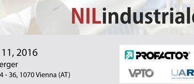 NIL Industrial Day 2016, 10-11 March, Vienna, Austria