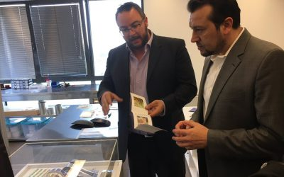 Mr. Nikos Pappas visited Technopolis